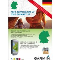TOPO Německo 2010, DVD + microSD/SD (with routable bike & hiking trails), 010-11288-01