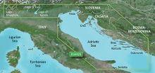 Bluechart G2 Vision VEU452S - Adriatic Sea, North Coast, území velikosti Small, SD karta, 010-C0796-00