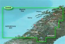 Bluechart G2 Vision VEU053R - Trondheim-Tromso, území velikosti Regular, SD karta, 010-C0789-00