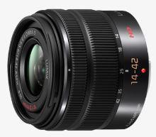 Panasonic H-FS1442AE-K - LUMIX G VARIO 14-42mm/F3.5-5.6 ASPH, MEGA O.I.S., H-FS1442AE-K